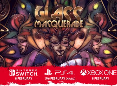 Glass Masquerade: il titolo è in arrivo l'8 febbraio sull'eShop di Nintendo Switch