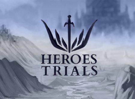 Heroes Trials: il titolo è in arrivo il 25 gennaio sull'eShop di Nintendo Switch