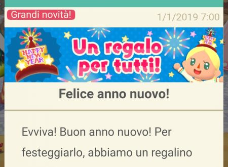 Animal Crossing: Pocket Camp: disponibile un regalo per tutti per un felice anno nuovo