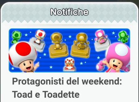 Super Mario Run: disponibile un evento dedicato a Toad e Toadette per il lancio di New Super Mario Bros. Deluxe