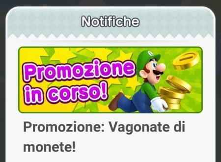 """Super Mario Run: disponibile di nuovo la promozione """"Vagonate di monete"""""""