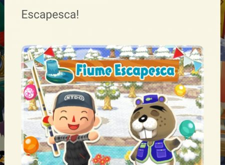 Animal Crossing: Pocket Camp: disponibile il decimo torneo di pesca al fiume Escapesca