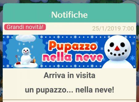 Animal Crossing: Pocket Camp: il pupazzo della neve è ora disponibile nel titolo