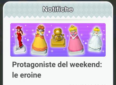 Super Mario Run: ora disponibili gli oggetti dedicati alle eroine, protagoniste del weekend