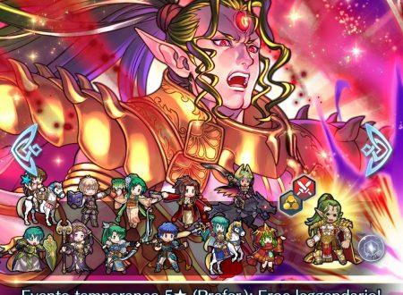 Fire Emblem Heroes: ora disponibile l'evento evocazione Eroi mitici, Duma, la forza divina