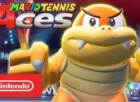 Mario Tennis Aces: pubblicato un nuovo trailer giapponese dedicato a Boom Boom