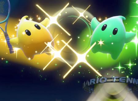 Mario Tennis Aces: uno sguardo in video gameplay a Sfavillotto nel Torneo di gennaio