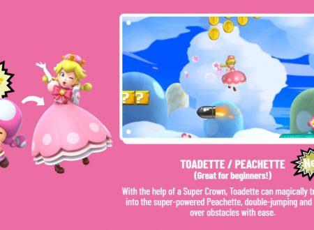 New Super Mario Bros U Deluxe: Bowsette è ufficialmente non-canon per Nintendo