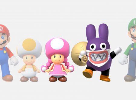 New Super Mario Bros U Deluxe: pubblicati dei nuovi artwork dal sito ufficiale