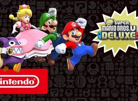 New Super Mario Bros U Deluxe: pubblicato il trailer di lancio del titolo