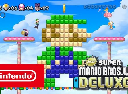 New Super Mario Bros U Deluxe: pubblicato un video commercial italiano sul titolo