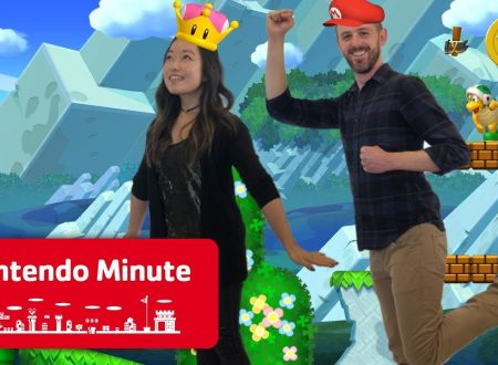 Nintendo Minute: Co-op Gameplay in video su New Super Mario Bros U Deluxe con Kit e Krysta
