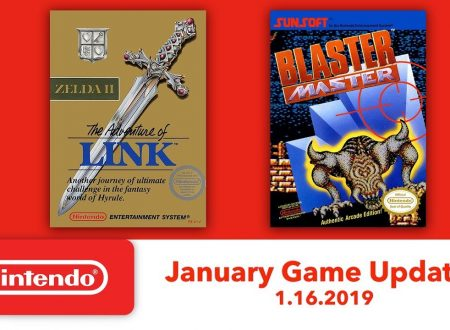 Nintendo Switch Online: Zelda II – The Adventure of Link e Blaster Master sono in arrivo il 16 gennaio