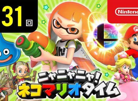 Nyannyan Neko Mario Time: pubblicato l'episodio 131 dello show felino con Mario e Peach