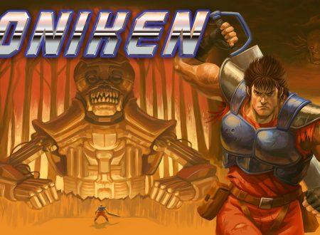 Oniken: Unstoppable Edition, il titolo è in arrivo l'8 febbraio sull'eShop di Nintendo Switch