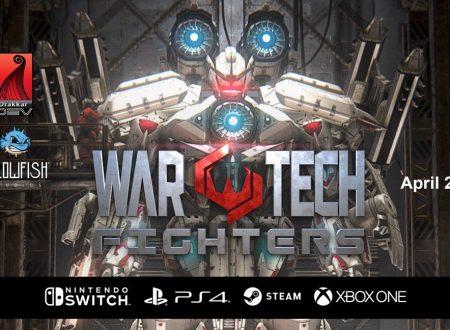 War Tech Fighters: il titolo è in arrivo nel Q2 2019 sull'eShop di Nintendo Switch
