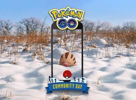 Pokèmon GO: Swinub sarà protagonista del Community Day del mese di febbraio
