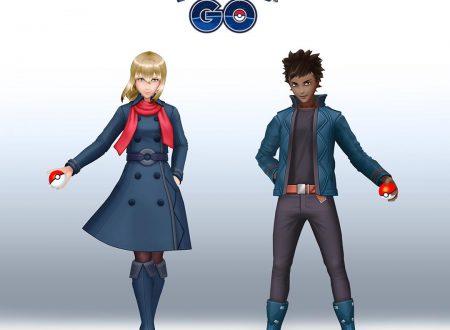 Pokèmon GO: gli outfit degli allenatori di Unova e Alola sono ora disponibili per l'avatar nel titolo mobile