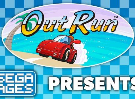 Sega Ages Out Run: pubblicato il trailer di lancio del titolo su Nintendo Switch