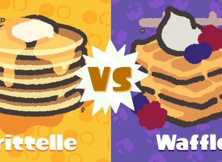 Splatoon 2: svelati i risultati dello Splatfest, qual è il dessert migliore a colazione: pancake o waffle?