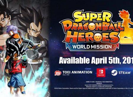 Super Dragon Ball Heroes: World Mission, il titolo è in arrivo il 5 aprile sui Nintendo Switch europei