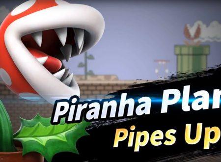 Super Smash Bros. Ultimate: il servizio notifiche conferma l'arrivo della Pianta Piranha per il mese di febbraio