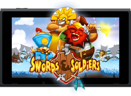 Swords & Soldiers: il titolo è ora disponibile sui Nintendo Switch europei