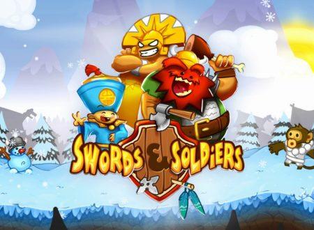 Swords & Soldiers: il titolo aggiornato alla versione 1.01 sui Nintendo Switch europei