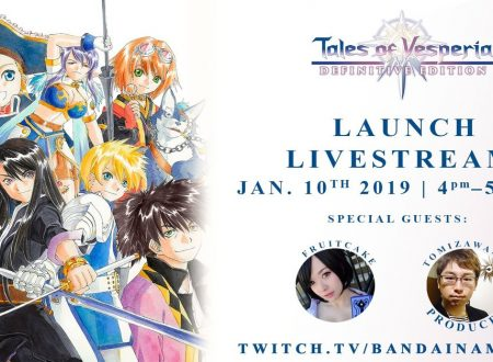 Tales of Vesperia: Definitive Edition, annunciato un livestream al lancio del titolo su Nintendo Switch