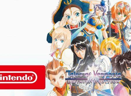 Tales of Vesperia: Definitive Edition, pubblicato il trailer di lancio del titolo