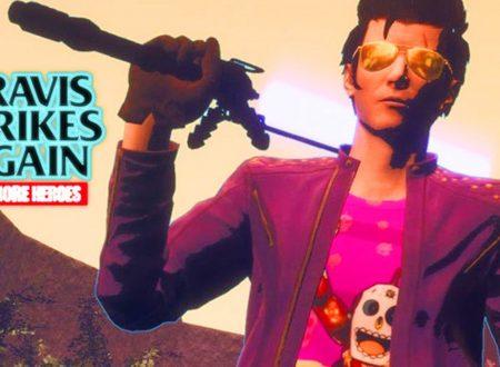 Travis Strikes Again: No More Heroes, il titolo aggiornato alla versione 1.0.1 sui Nintendo Switch europei