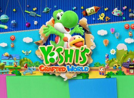 Yoshi's Crafted World: rivelato il filesize e mostrata la boxart europea del gioco