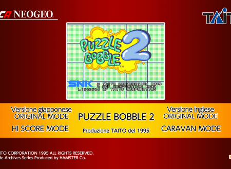 ACA NEOGEO Puzzle Bobble 2: uno sguardo in video al titolo dai Nintendo Switch europei
