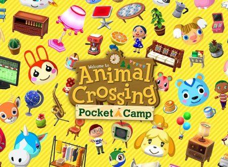Animal Crossing: Pocket Camp, il titolo aggiornato alla versione 2.2.1 su iOS e Android