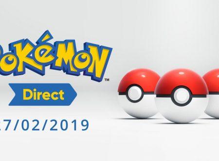 Annunciato l'arrivo del Pokèmon Direct, in onda il prossimo 27 febbraio