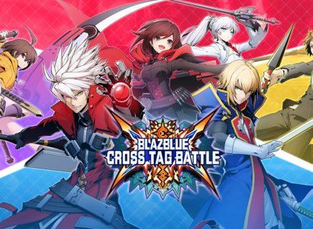 BlazBlue: Cross Tag Battle, il titolo aggiornato alla versione 1.50 sui Nintendo Switch europei