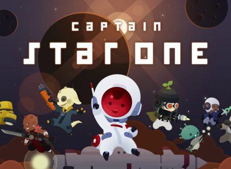 Captain StarONE: il titolo è in arrivo il 12 febbraio sull'eShop europeo di Nintendo Switch