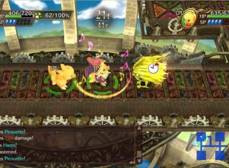 Chocobo's Mystery Dungeon: Every Buddy!: pubblicato un nuovo video gameplay con le cutscene del titolo