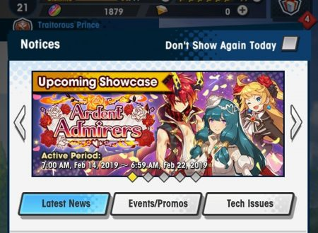 Dragalia Lost: rivelato l'arrivo imminente dell'Ardent Admirers Summon Showcase