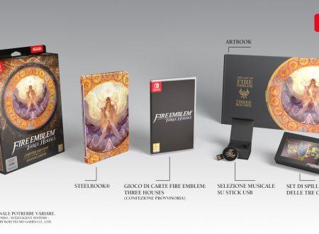 Fire Emblem: Three Houses, il titolo è in arrivo il 26 luglio sui Nintendo Switch europei
