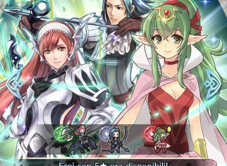 Fire Emblem Heroes: ora disponibile la Battaglia Legame: Zelcher e Virion, assieme alla preferenza evocazione