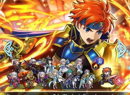 Fire Emblem Heroes: ora disponibile l'evento evocazione Eroi leggendari: Roy, il leone fulgente