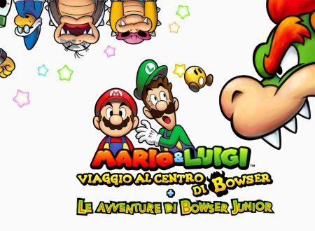 Mario & Luigi: Viaggio al centro di Bowser + Le avventure di Bowser Junior, il titolo aggiornato alla versione 1.2 sui Nintendo 3DS europei