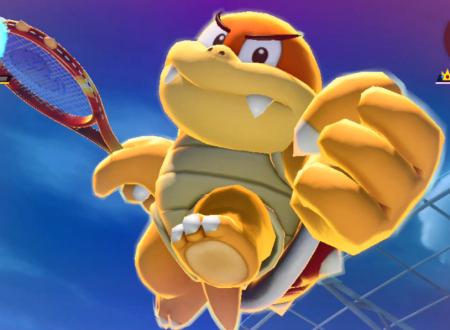 Mario Tennis Aces: uno sguardo in video a Boom Boom nel torneo online di febbraio