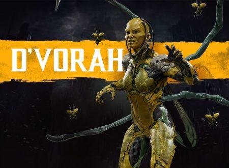 Mortal Kombat 11: D'Vorah e Kabal faranno parte del roster del titolo