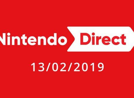 Nintendo Direct: la nuova presentazione è in arrivo il prossimo 13 febbraio