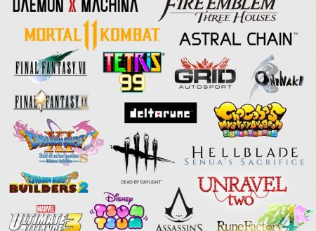 Nintendo Switch: mostrata un'infografica sui prossimi titoli in arrivo sulla console