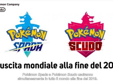 Pokèmon Spada e Pokèmon Scudo sono i due nuovi capitoli della serie principale su Nintendo Switch