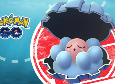 Pokémon GO: annunciato l'arrivo della ricerca mirata dedicata a Clamperl