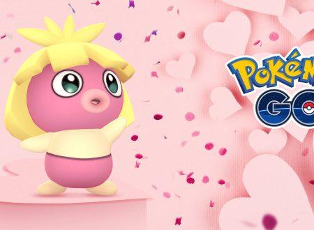 Pokémon GO: annunciato l'evento tutto in rosa dedicato a San Valentino